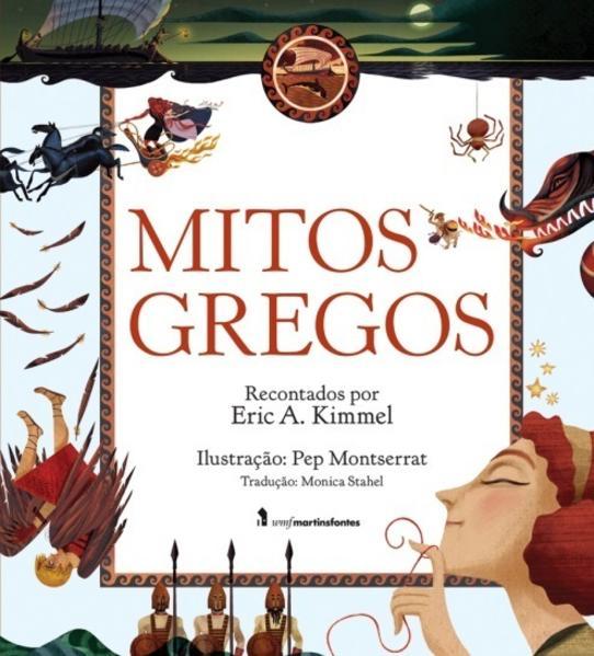 MITOS GREGOS, livro de KIMMEL, ERIC A.