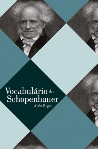 VOCABULARIO DE SCHOPENHAUER, livro de ROGER, ALAIN