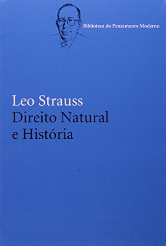 Direito Natural e História, livro de Leo Strauss