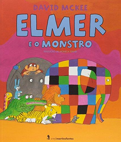 Elmer e o Monstro, livro de David Mckee