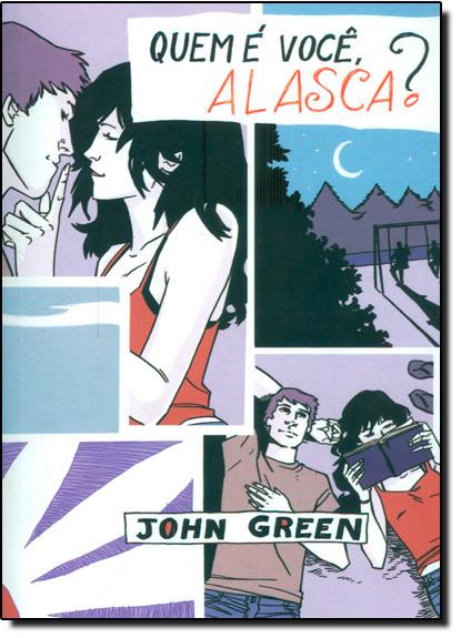 Quem É Você, Alasca? - Capa Quadrinhos, livro de John Green