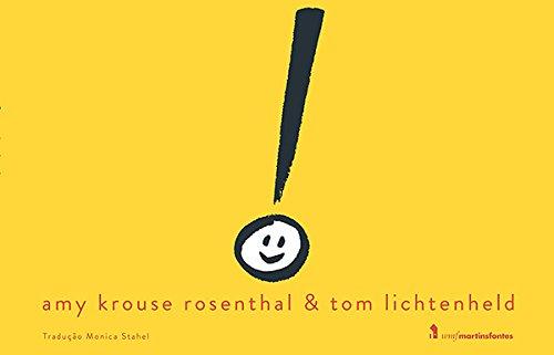 Ponto de Exclamação, livro de Amy Krouse Rosenthal, Tom Lichtenheld