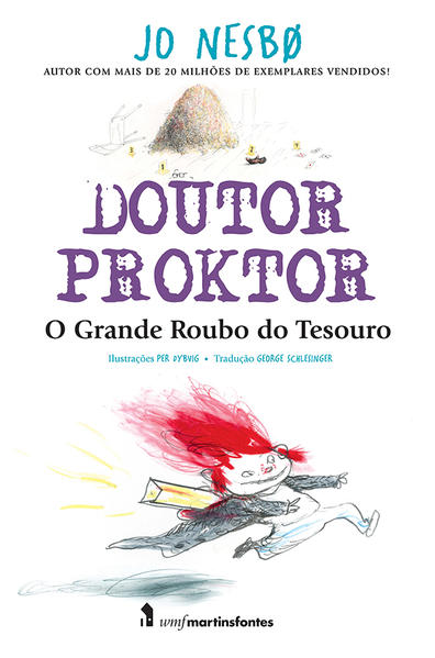 Doutor Proktor - O Grande Roubo do Tesouro, livro de Jo Nesbo