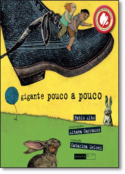 Gigante Pouco a Pouco, livro de Pablo Albo