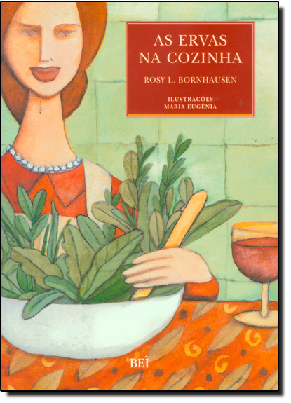 Ervas na Cozinha, As, livro de Rosy L. Bornhausen