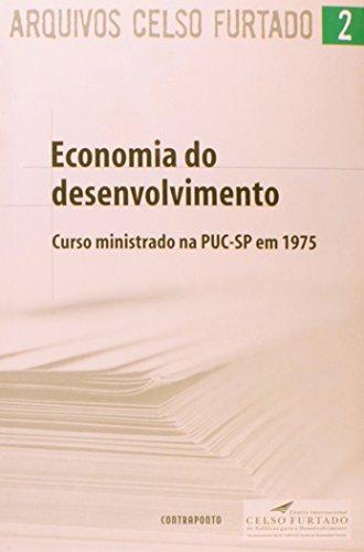 Economia Do Desenvolvimento, livro de Celso Furtado