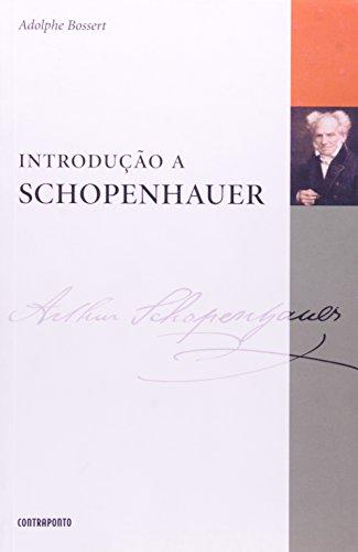 Introdução A Schopenhauer, livro de Adolphe Bossert