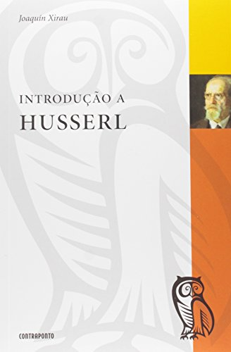 Introdução a Husserl, livro de Joaquin Xirau