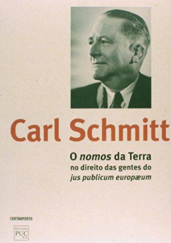 Nomos Da Terra, O, livro de Carl Schmitt