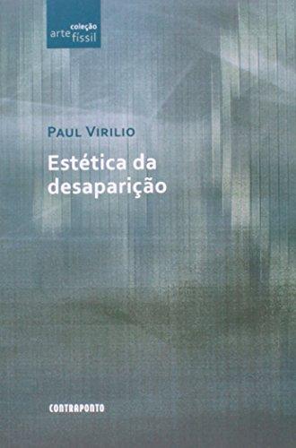 Estetica Da Desaparicao, livro de Paul Virilo