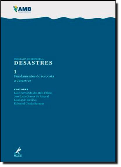 Fundamentos de Resposta a Desastres, livro de Ana Cristina Mancussi