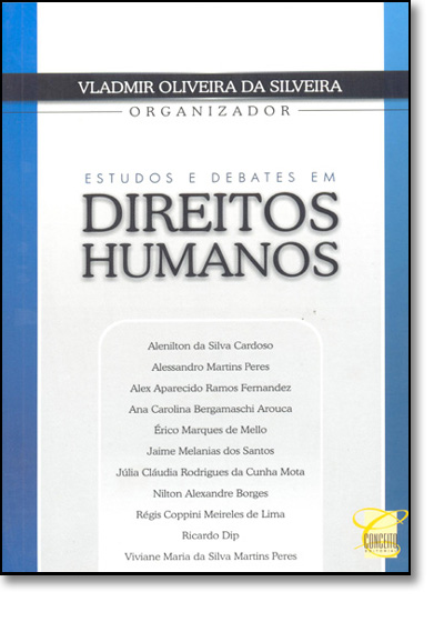 Estudos e Debates em Direitos Humanos, livro de Vladimir Oliveira da Silveira