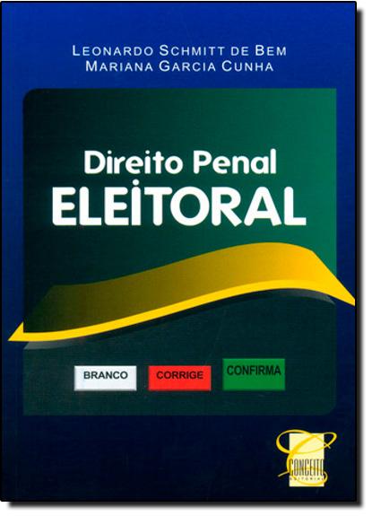 Direito Penal Eleitoral, livro de Mariana Garcia Cunha
