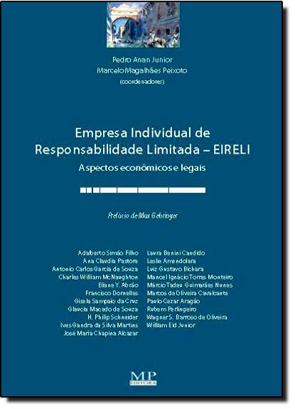 Empresa Individual de Responsabilidade Limitada - E I R E L I, livro de Cristiano Carvalho