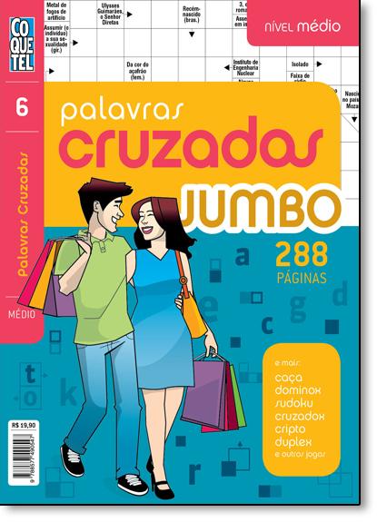 Palavras Cruzadas Jumbo - Livro 6 - Nível Médio, livro de Equipe Coquetel
