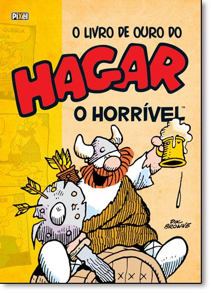 Livro de Ouro do Hagar, O: O Horrível - Vol.2, livro de Dik Browne