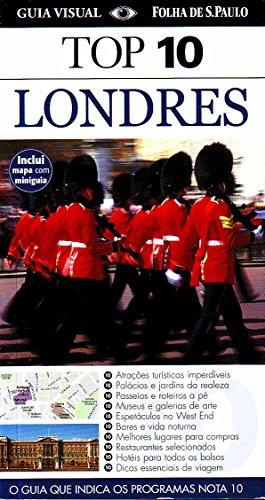 Top 10 Londres - Coleção Guia Visual Folha de S. Paulo, livro de Roger Williams