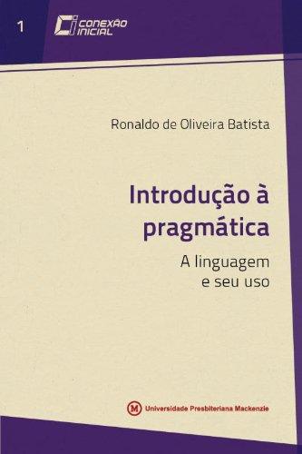 Introdução a Pragmática, livro de Ronaldo de Oliveira Batista