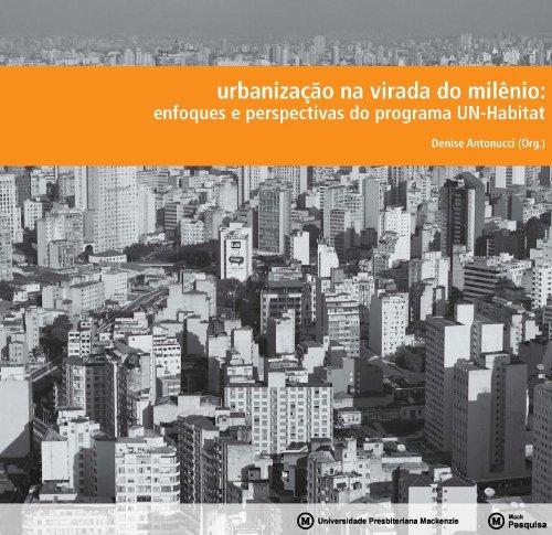 Urbanização na virada do Milenio , livro de Denise Antonucci (org.)