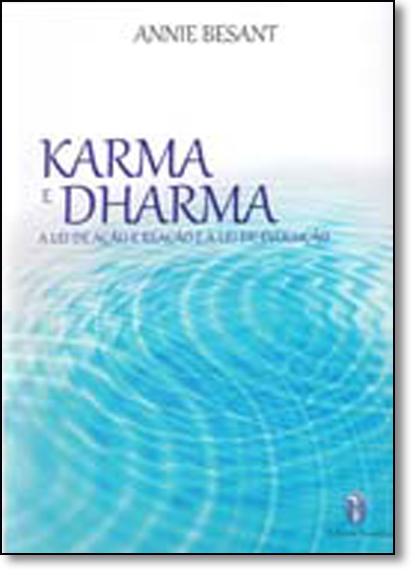 Karma e Dharma, livro de Annie Besant