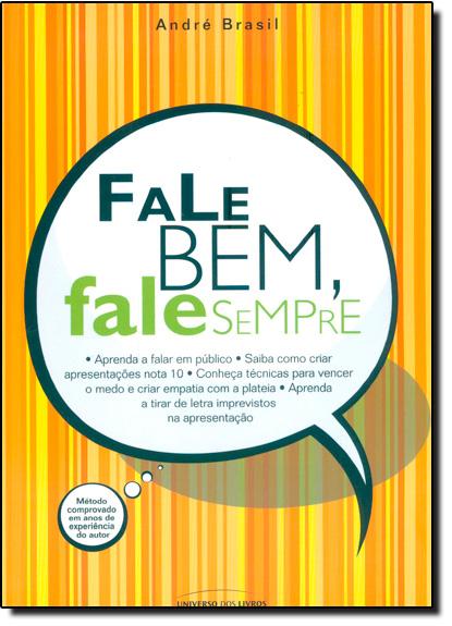 Fale Bem, Fale Sempre, livro de André Brasil
