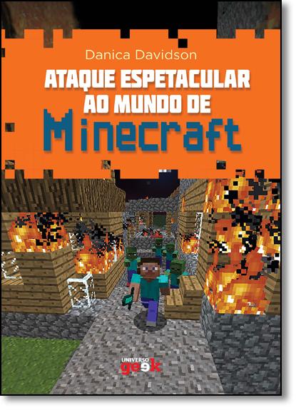 Ataque Espetacular ao Mundo de Minecraft, livro de Danica Davidson