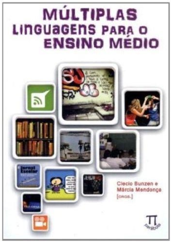 Múltiplas Linguagens Para o Ensino Médio, livro de