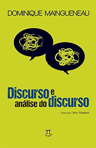 Discurso e Análise do Discurso, livro de Dominique Maingueneau