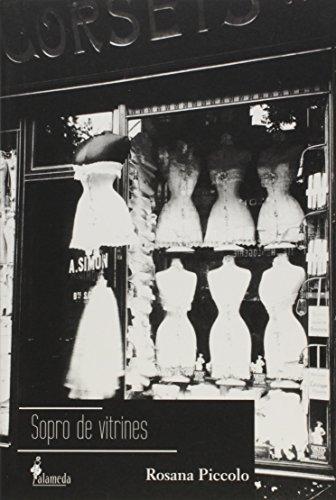 Sopro de vitrines, livro de Rosana Piccolo