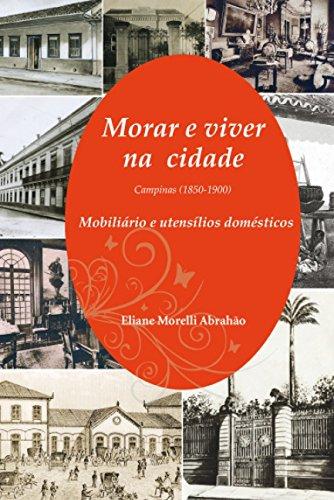 Morar e viver na cidade, livro de Eliane Morelli Abrahão