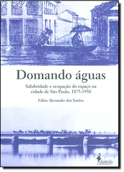 Domando Águas: Salubridade e Ocupação do Espaço na Cidade de São Paulo, 1875-1930, livro de Fábio Alexandre dos Santos