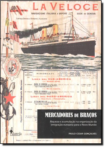 Mercadores de Braços, livro de Paulo Cesar Gonçalvez