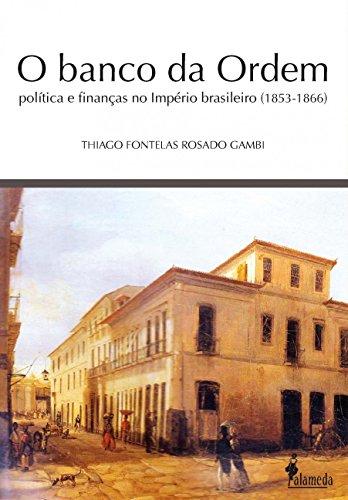 O Banco da Ordem, livro de Thiago Fontelas Rosado Gambi