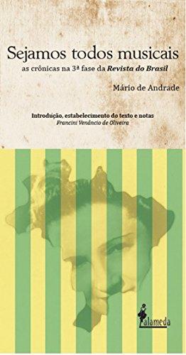 Sejamos todos musicais, livro de Mário de Andrade