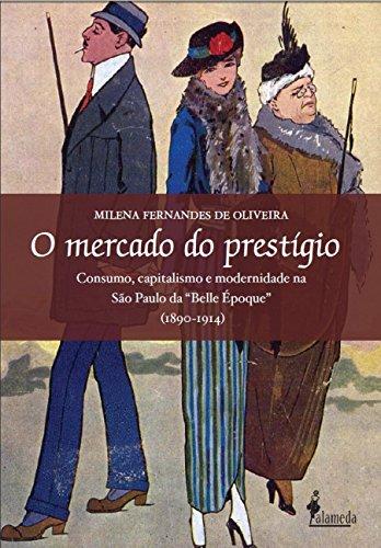 mercado do prestígio, O, livro de Milena Fernandes de Oliveira