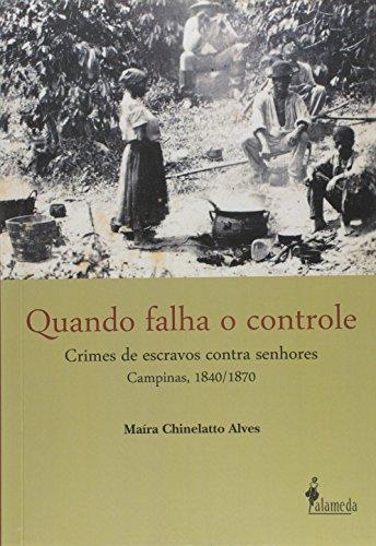 Quando falha o controle, livro de Maíra Chinellato Alves