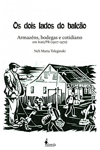 Os dois lados do balcão, livro de Neli Maria Teleginski