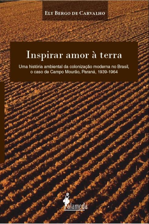 Inspirar amor à terra, livro de Ely Bergo de Carvalho
