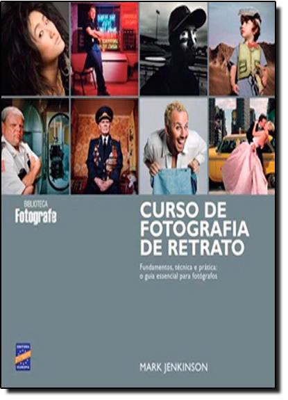 Curso de Fotografia de Retrato, livro de Mark Jenkinson