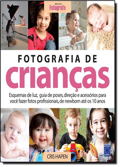 Fotografia de Crianças, livro de Cris Hapen