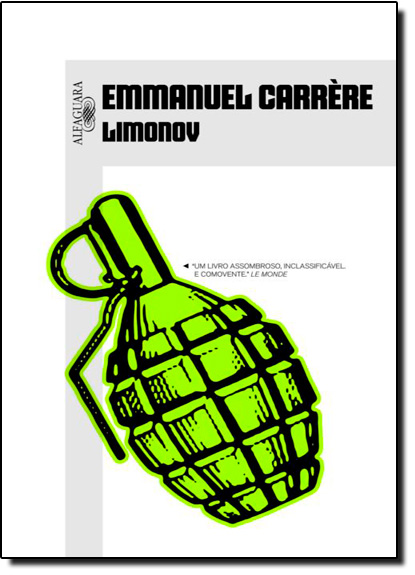 Limonov, livro de Emmanuel Carrère