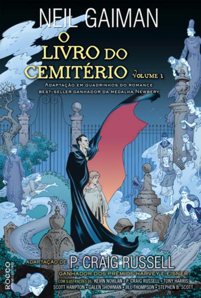 O livro do cemitério HQ vol.1, livro de Neil Gaiman