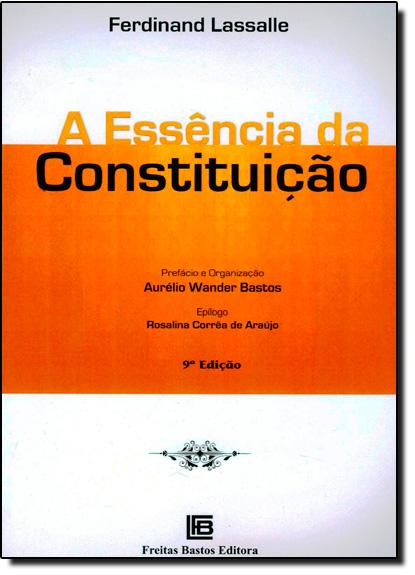 Essência da Constituição, A, livro de Ferdinand Lassalle