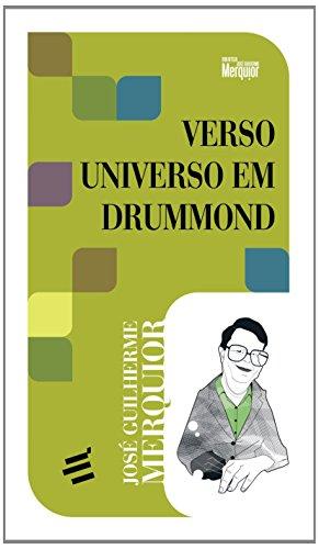 Verso e Universo em Drummond, livro de José Guilherme Merquior