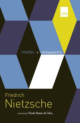 Citações e Pensamentos de Nietzsche, livro de Paulo Neves da Silva