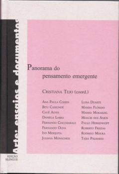 Panorama do pensamento emergente, livro de Cristiana Tejo, Ana Maria Maria, Felipe Quérette