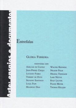 Entrefalas, livro de Glória Ferreira, Julias Dias Ramos