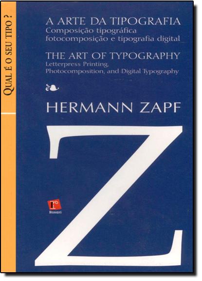 Arte da Tipografia, A, livro de Hermann Zapf