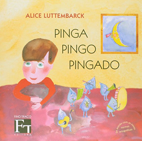 Pinga Pingo Pingado, livro de Alice Luttembarck