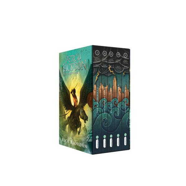 Box Percy Jackson e os olimpianos - capa nova. (Série Percy Jackson e os olimpianos), livro de Rick Riordan